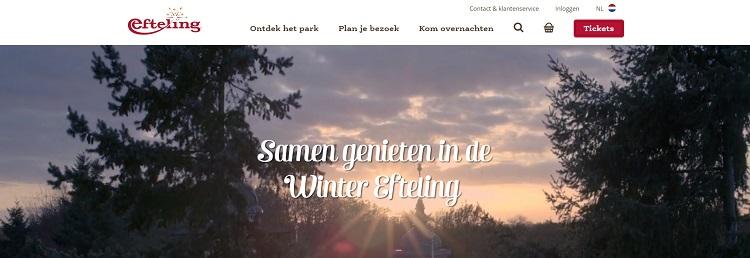 Winter Efteling openingstijden
